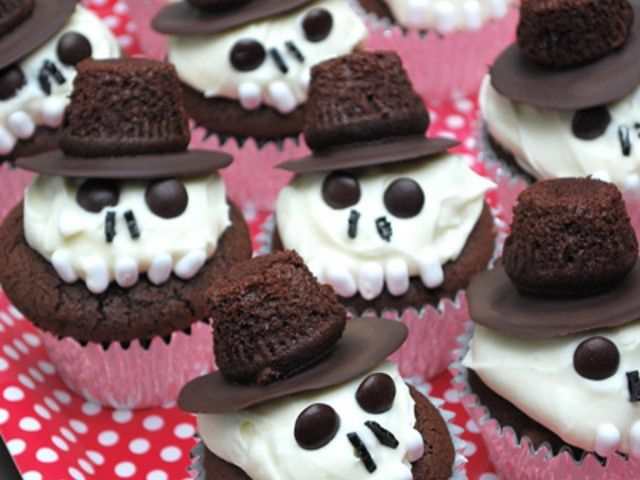 Cup Cakes squelettes