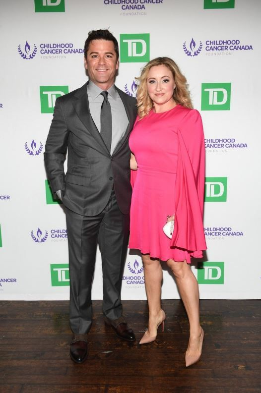 Yannick Bisson parraine la Purple Party de Childhood Cancer Canada
