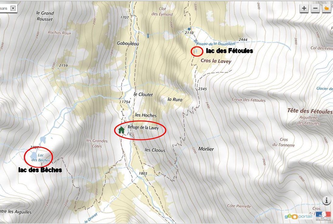 carte détaillée