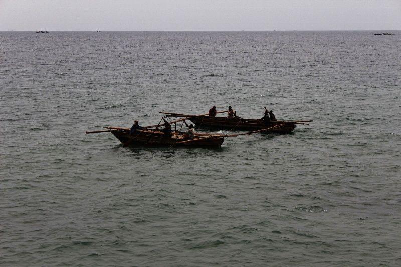 Sur les rives du lac Tanganyika