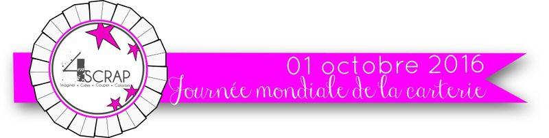 Journée mondiale de la carterie - 4enScrap