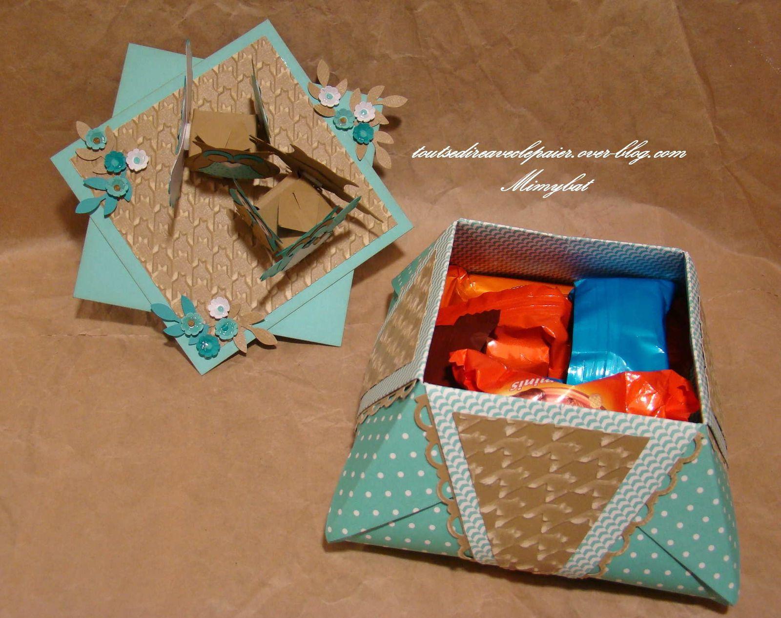 Et encore des chocolatss...du coup, elle a pu partager avec sa petite famille, aussi gourmande qu'elle !