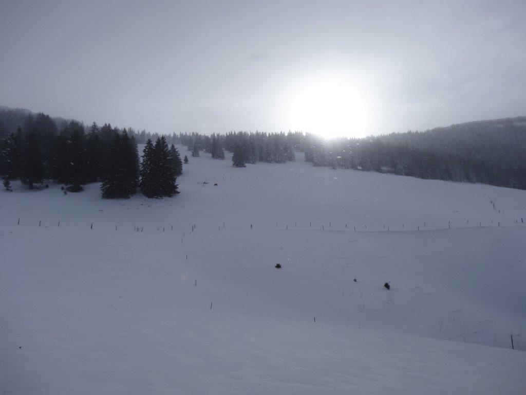 Ski de randonnée - Chasseron 2014