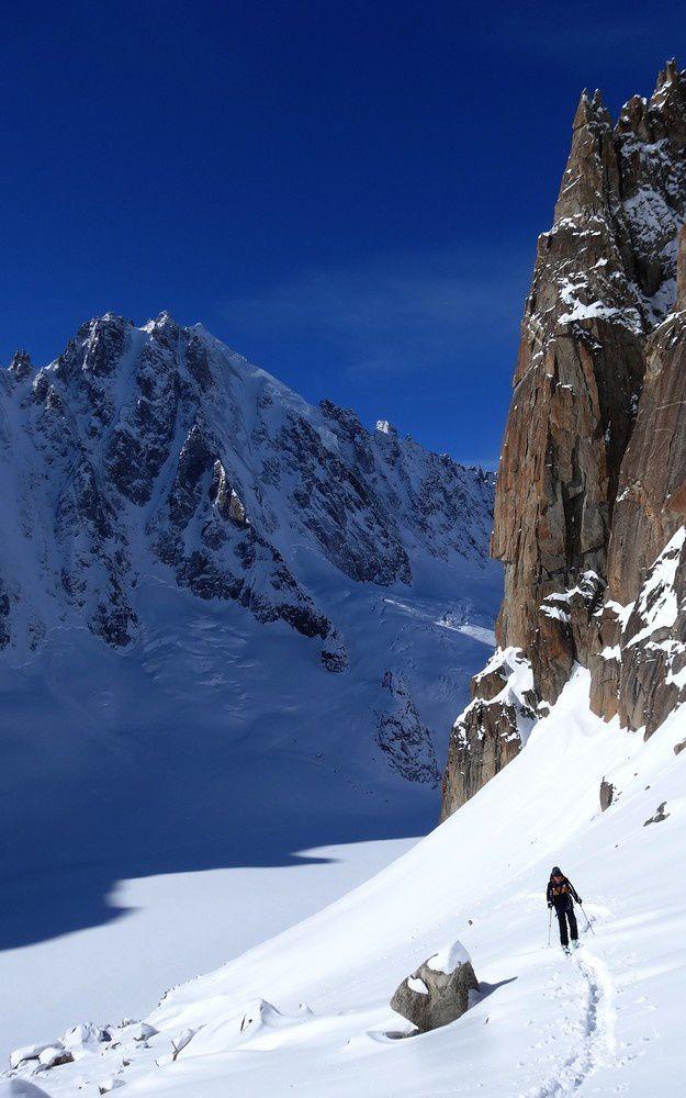 Ski de randonnée : Col du Tour Noir - 3535 m