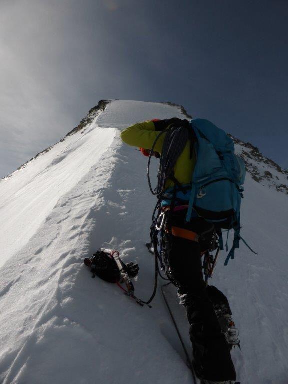 Alpinisme : Obergabelhorn Face Nord  4063 m