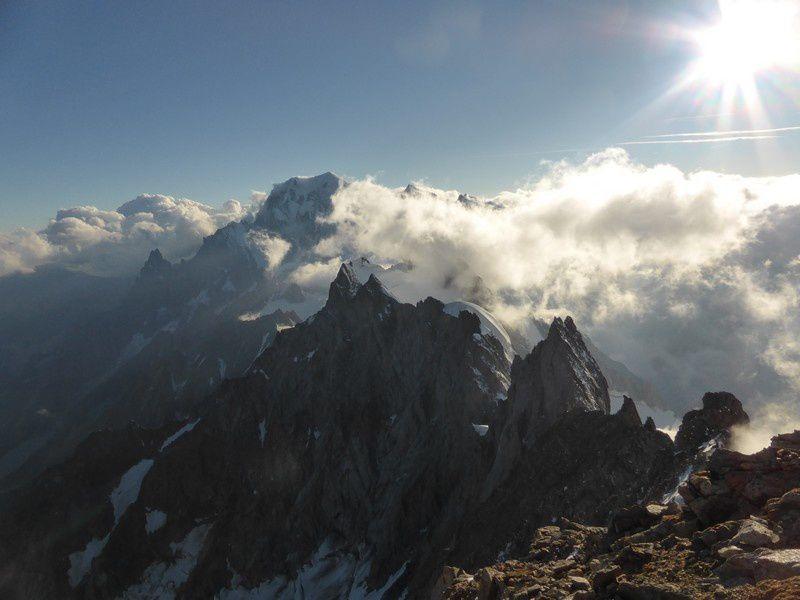 Alpinisme : Traversée Rochefort Jorasses : les Grandes Jorasses