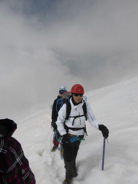 Alpinisme en famille - Punta Giordani 4046 m