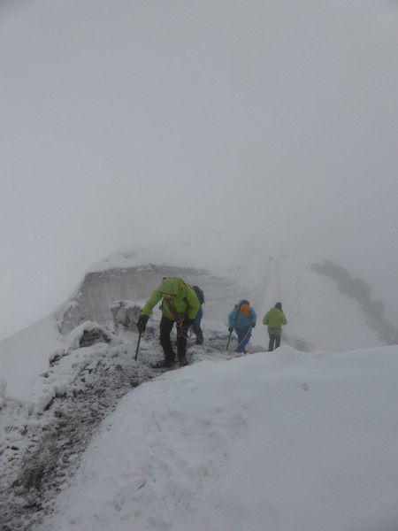 Alpinisme : Traversée des Aiguilles du Diable
