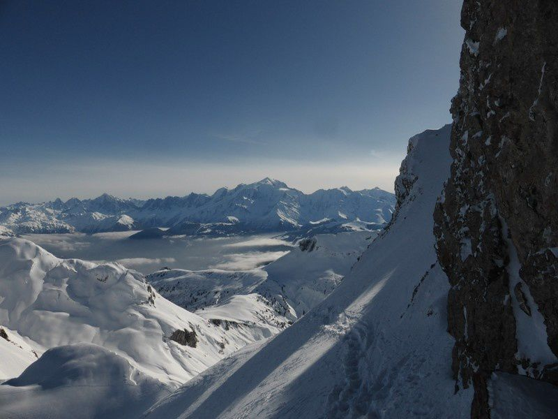 Ski de randonnée : Traversée du Trou de la Mouche - Ambrevetta