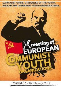 10ème rencontre des Jeunesses communistes d'Europe : « organiser les luttes pour mettre en échec la politique de l'UE du capital »