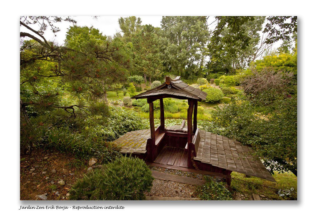 Au jardin zen d 39 erik borja dans la dr me henri pol photographe le blog for Jardin zen drome