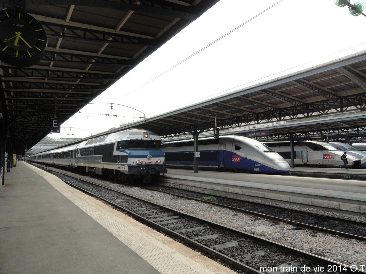 Rencontre train lyon