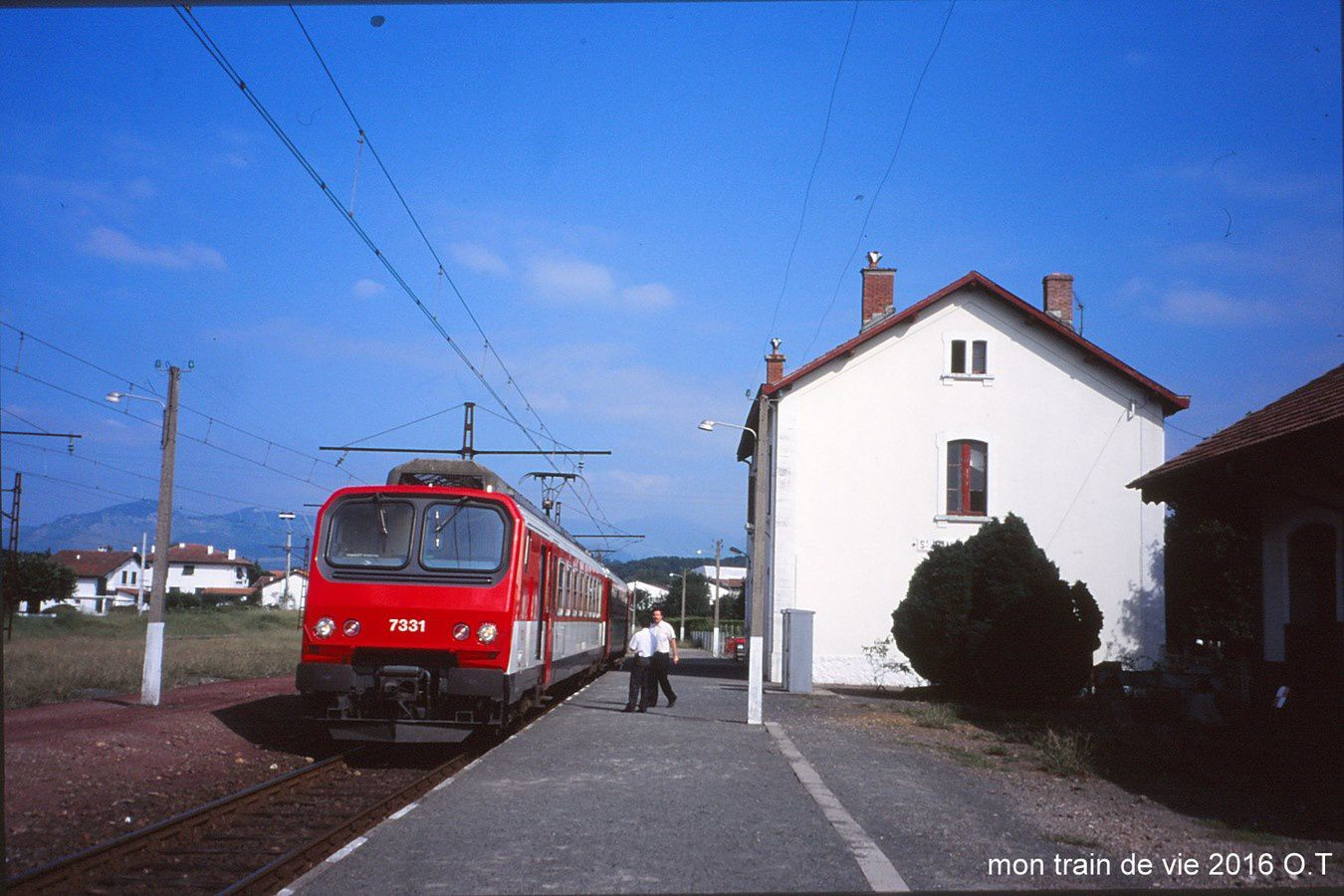 En vacances au pays basque 2 cc72000 - Train bayonne saint jean pied de port ...