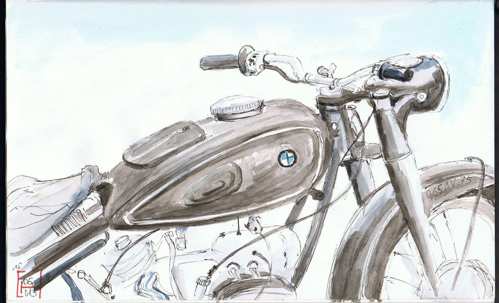 MOTOGRAPHIE.......Galerie de dessins et peintures de motos