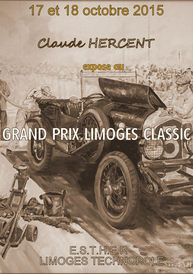 grand prix limoges classic 17 18 octobre 2015 le blog de claude hercent artiste peintre. Black Bedroom Furniture Sets. Home Design Ideas