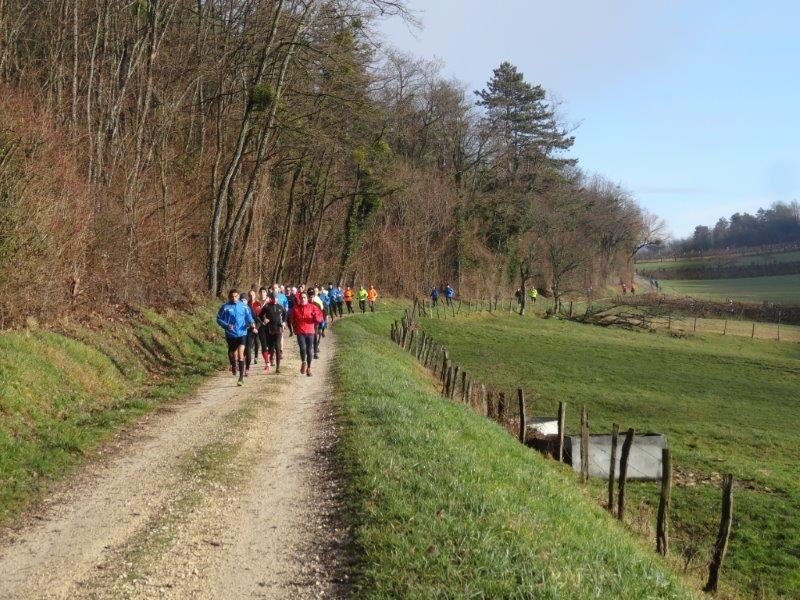 Photos Reconnaissance trail 17 km - 2 fev 2014