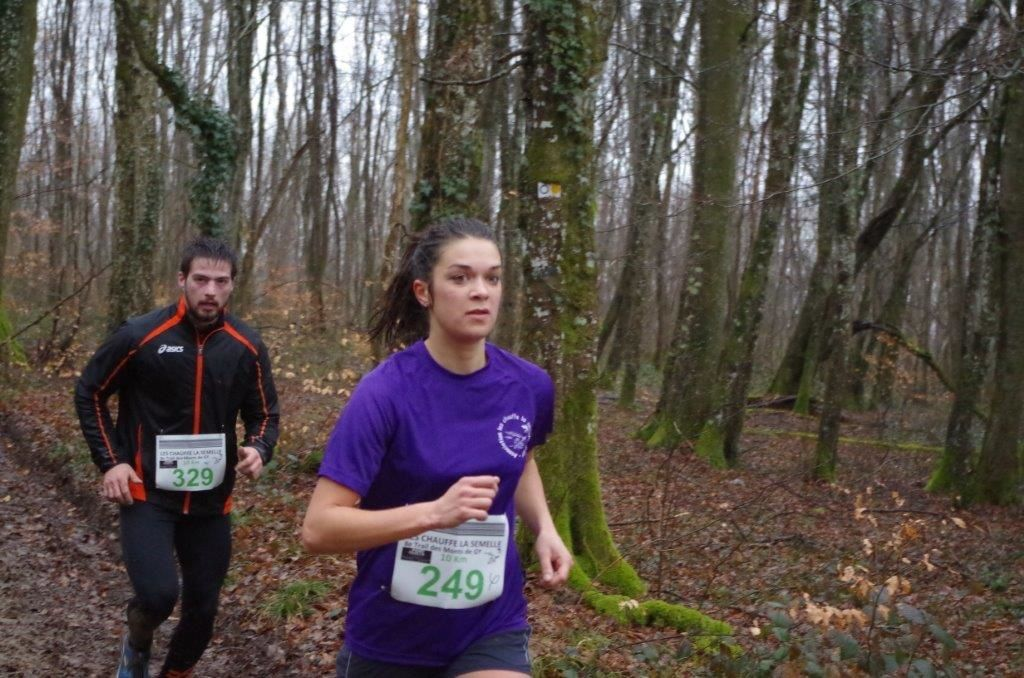 Album photo trail des Monts de Gy 2015 - album Agathe 1
