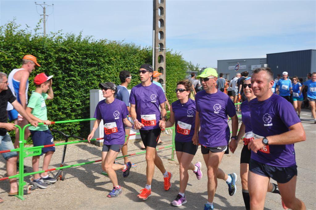 Marathon relais de Viriat