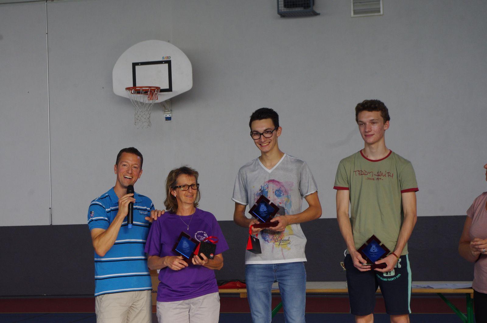 Fêtes des sports : Isabelle, Allan et Killian à l'honneur!