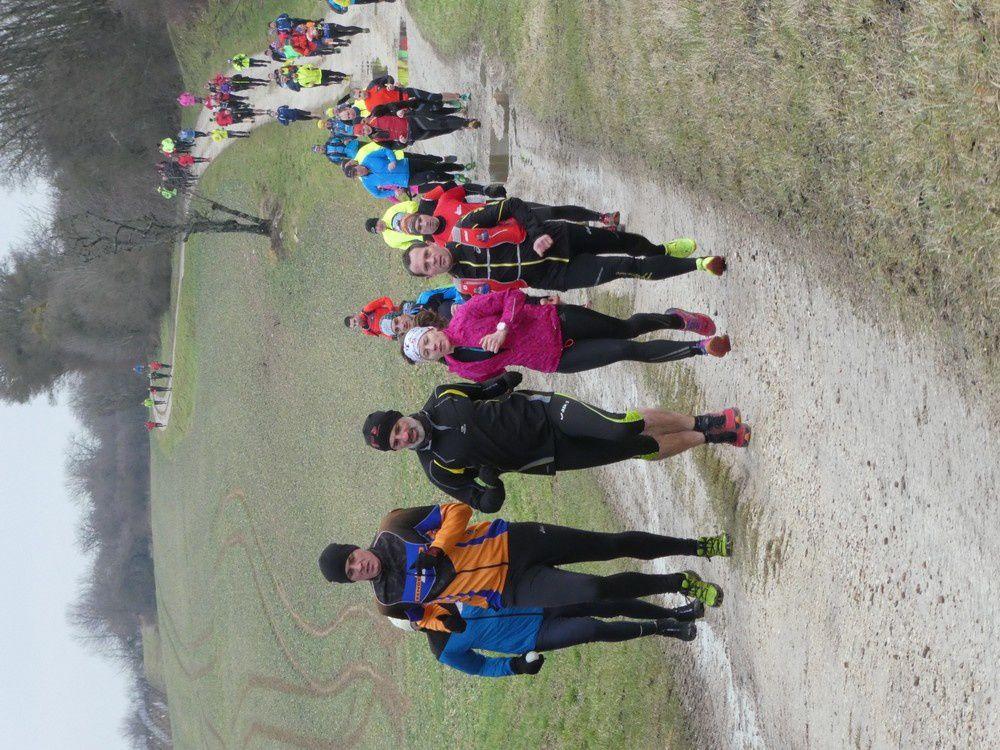 Photos de la 2ème reco du trail des Monts de Gy - 18 km