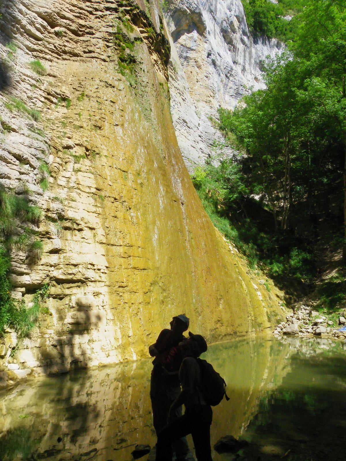 Cascade du Luizet