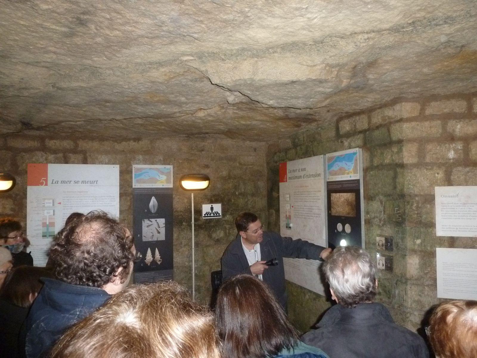 CR. de la visite dans les Catacombes le samedi 17 décembre 2016 avec JP. Gély