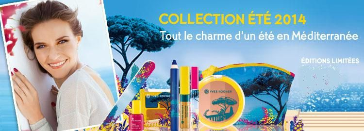 Collection Eté 2014 Yves Rocher