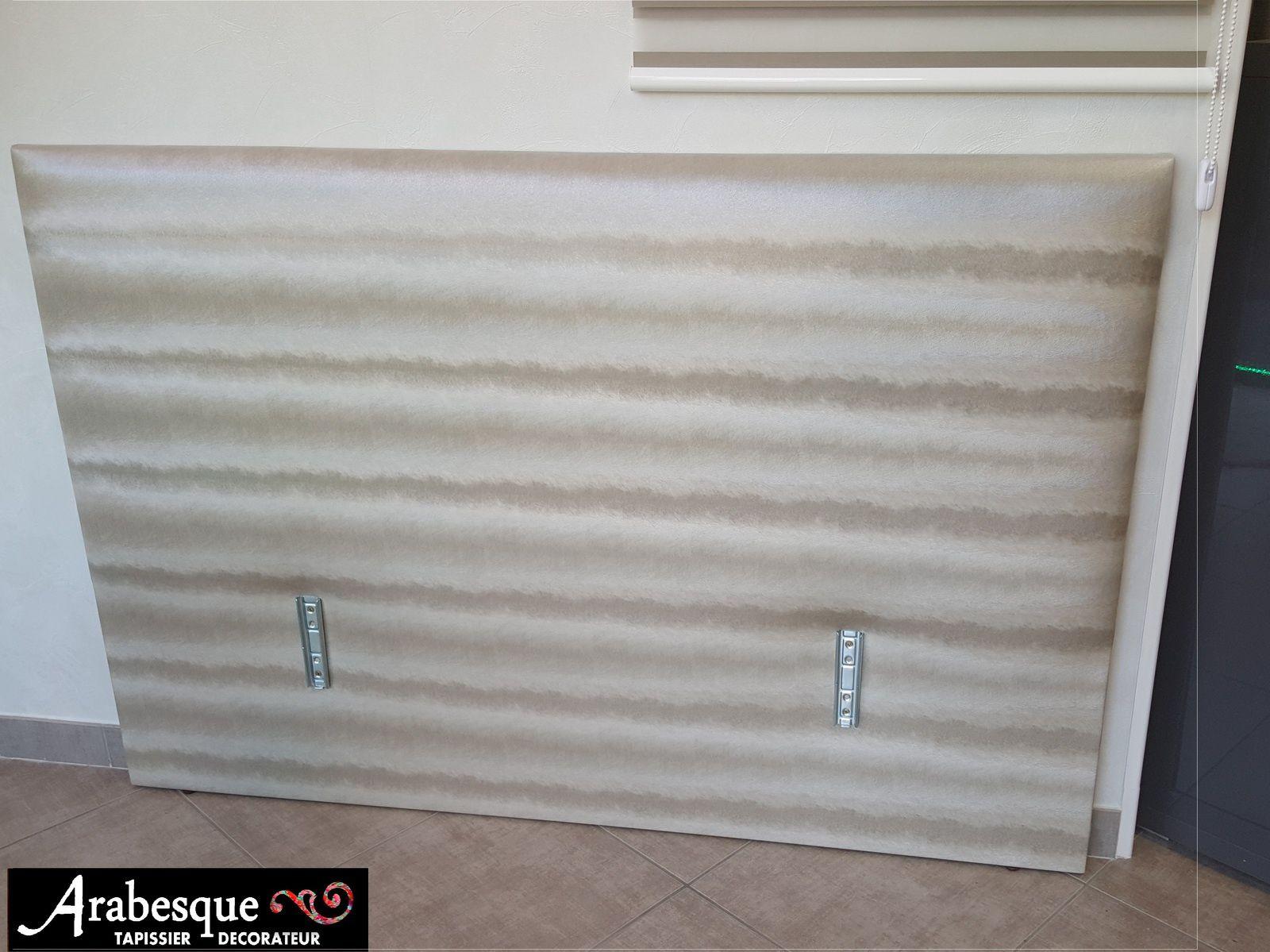 r alisation tete de lit sur mesure arabesque thiers tapissier decorateur. Black Bedroom Furniture Sets. Home Design Ideas