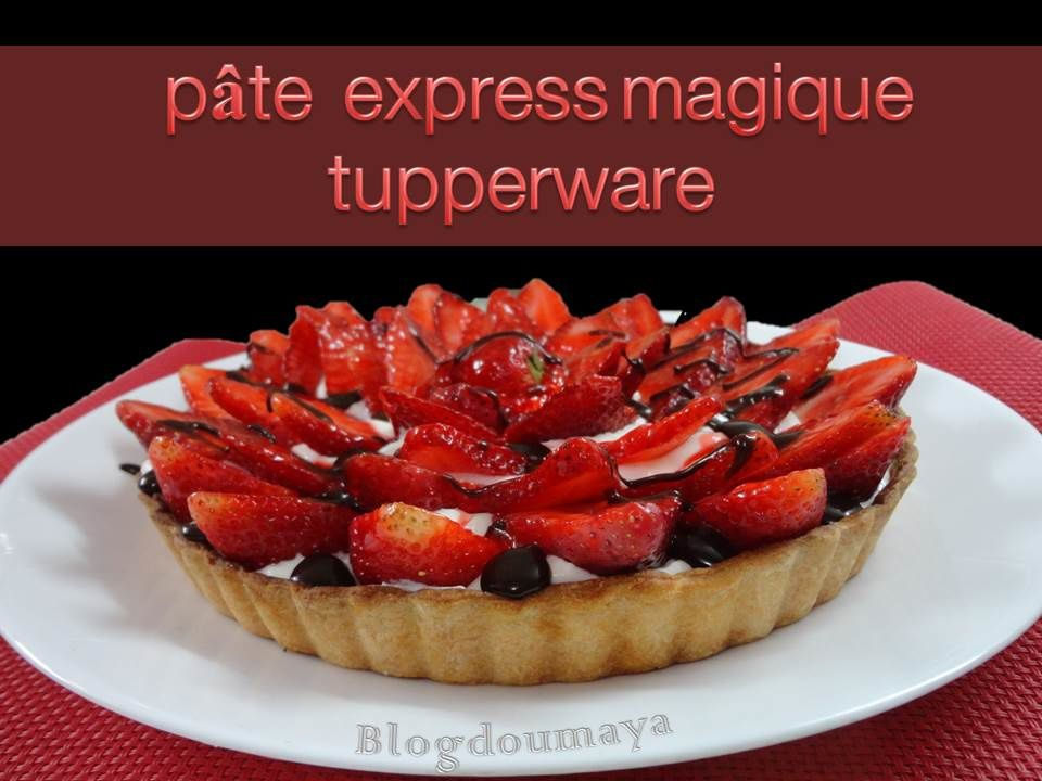 Wonderful Pate A Tarte Tupperware #11: Pâte à Tarte Express Magique Tupperware !