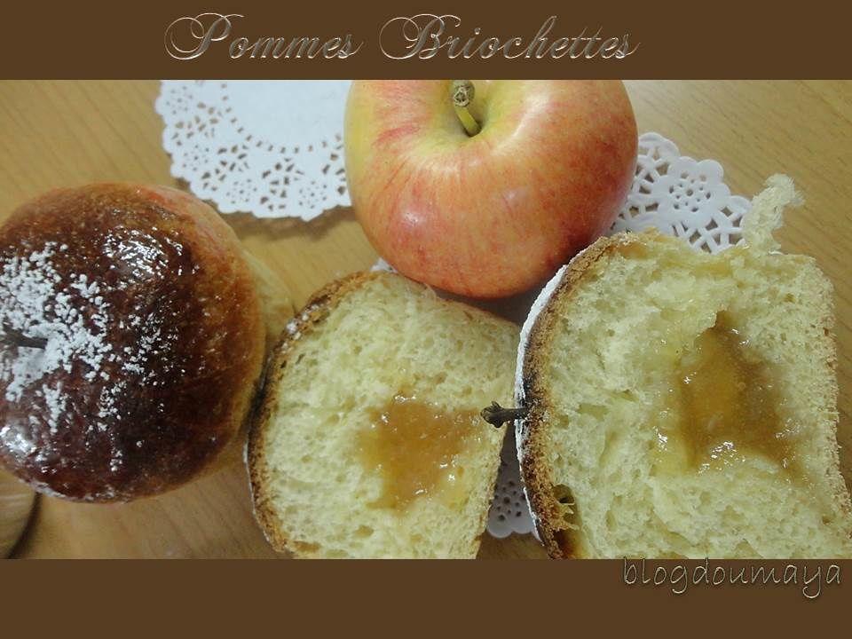 Brioche en forme de pomme