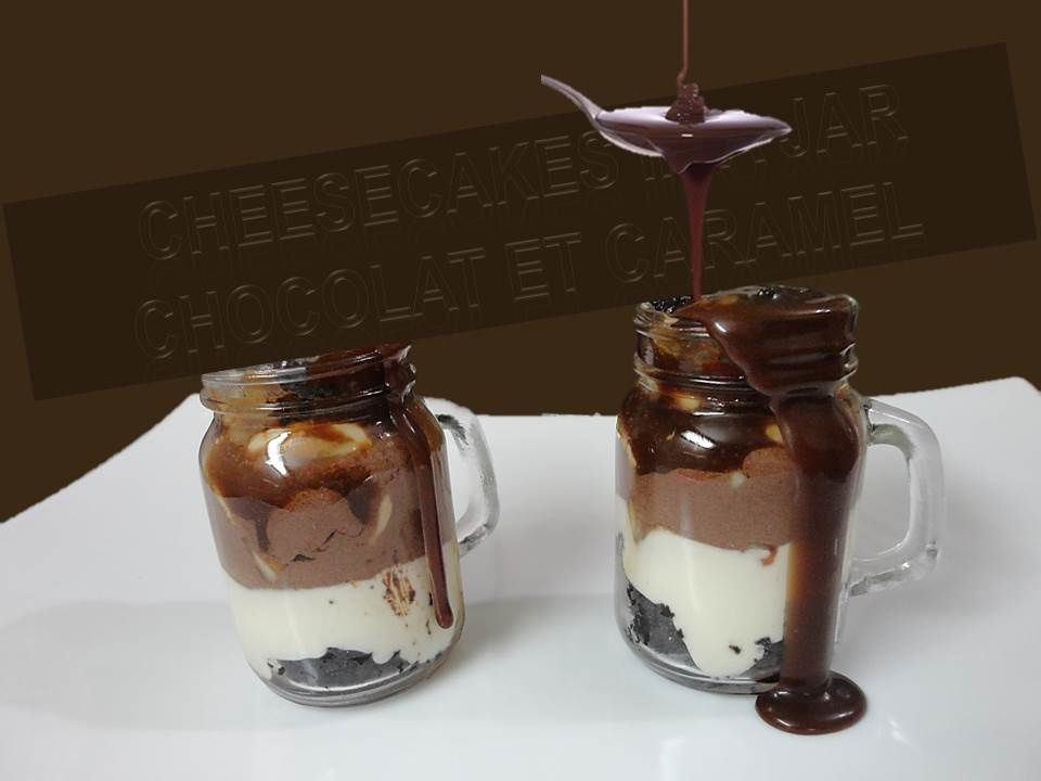 Cheesecake in a jar/Le cheesecake en jarre
