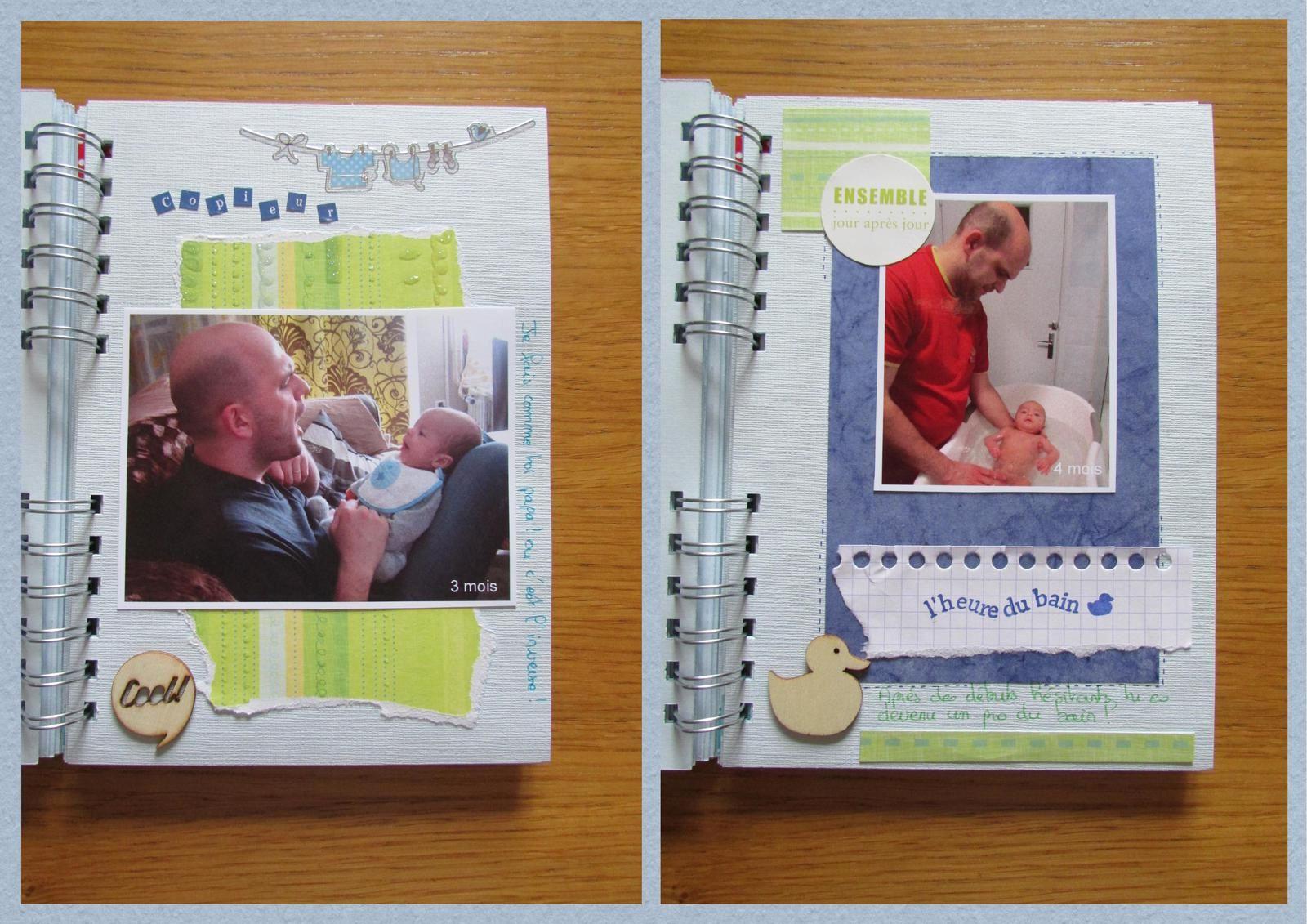Livre photo pour la fête des pères (2)