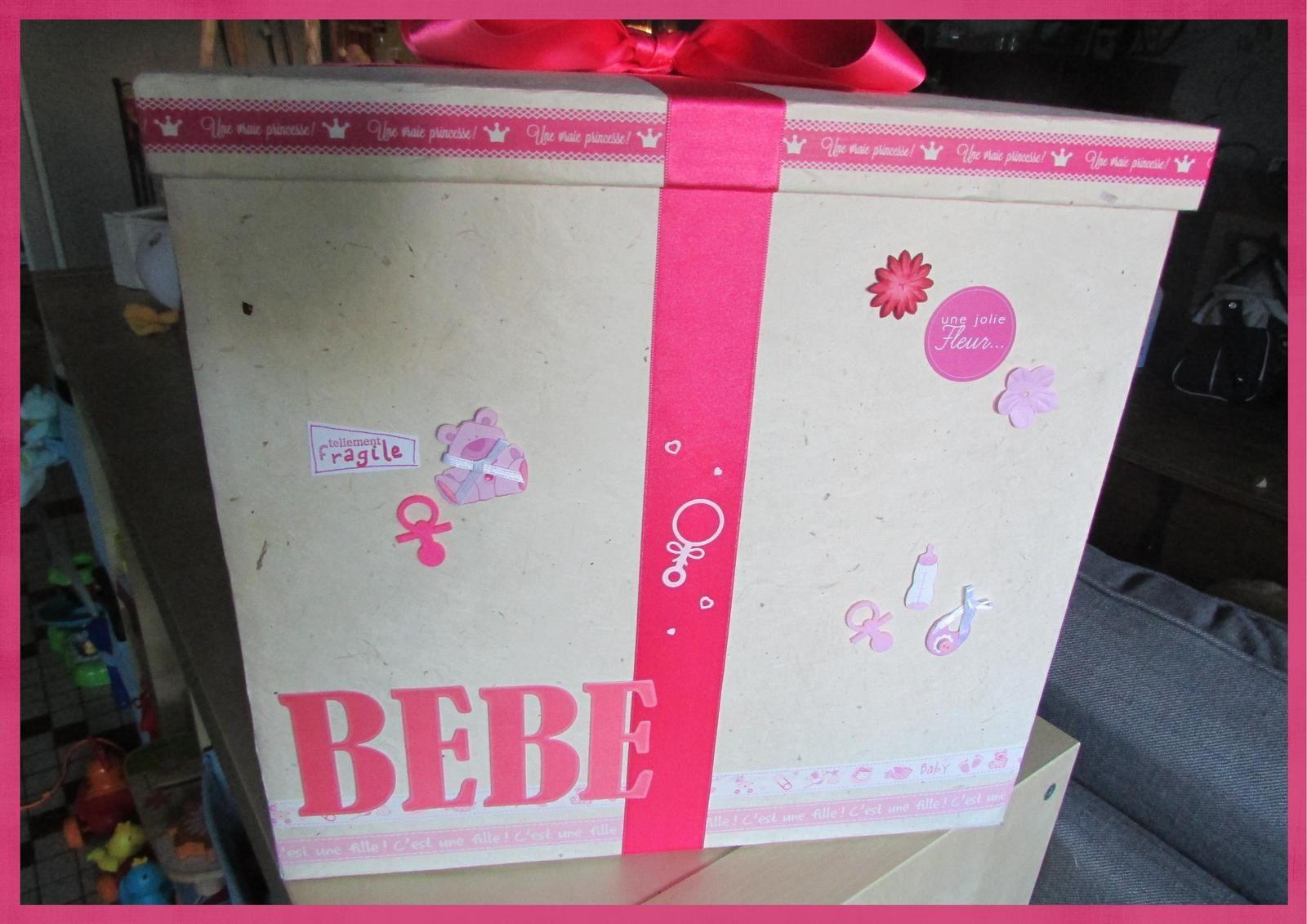 Boite cadeau pour bébé