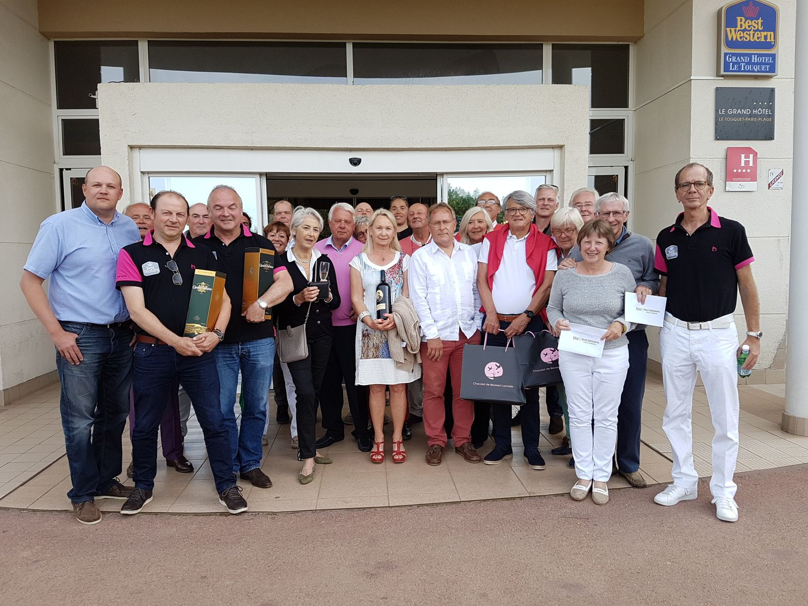 COUPE BEST WESTERN LE GRAND HOTEL :Dimanche 19 juin 2016