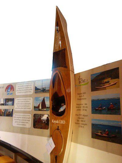 Kayak LEO / Salon nautique de Paris 2012