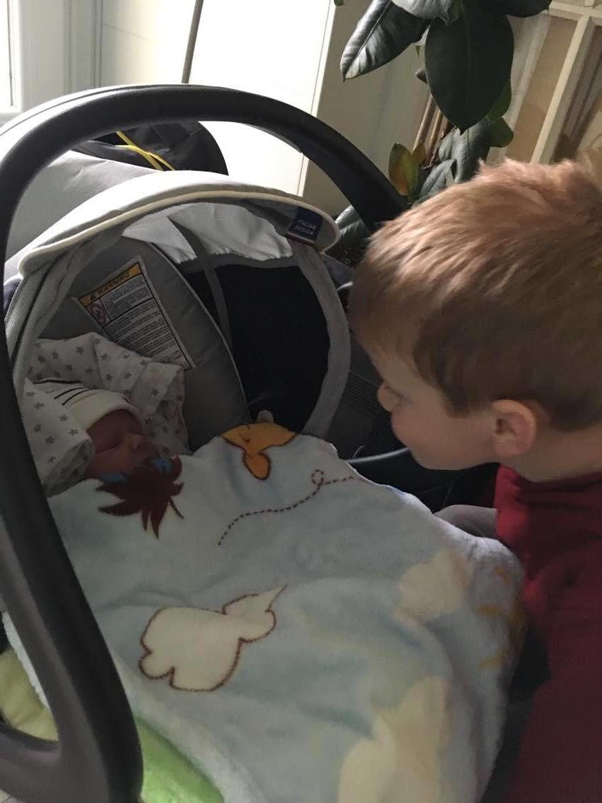 Départ de la maternité