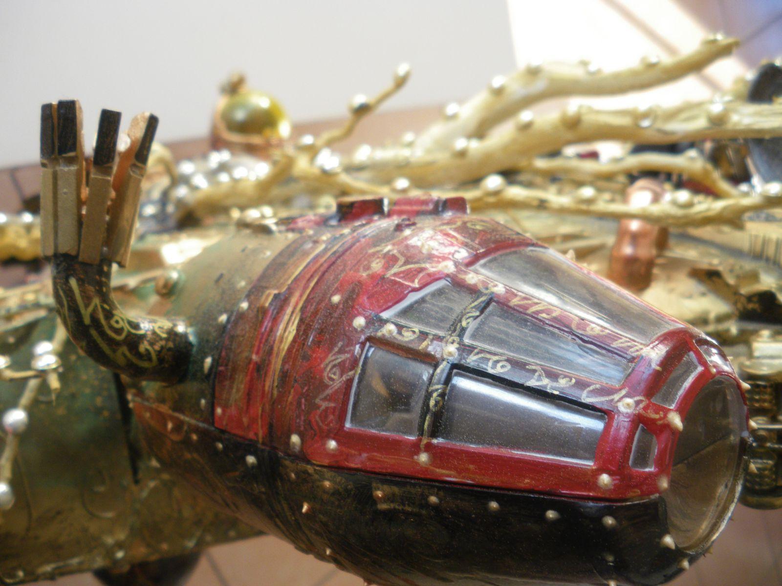 Falcon Millenium Steampunk