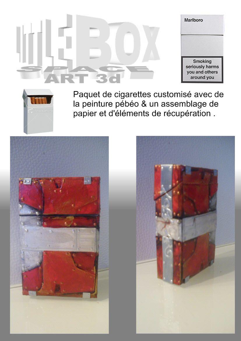 Boite ( paquet de cigarettes )