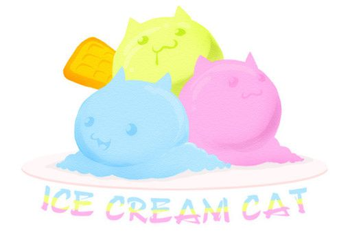 chats glace