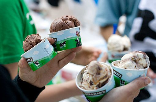 glace offerte Ben & Jerry's
