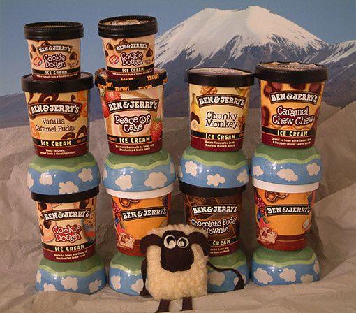 le glacier Sajama et des pots de glace