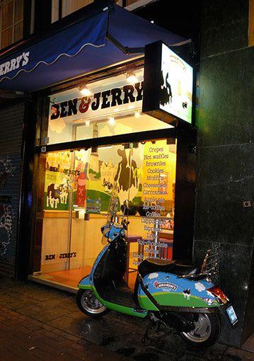 Ben & Jerry's à Amsterdam