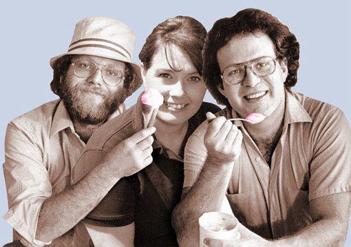 Ben, Toni et Jerry
