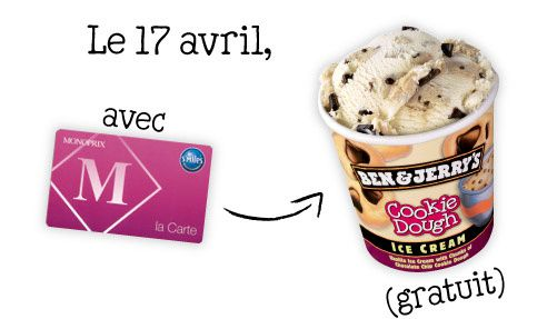 Le Free Cone Day de Monoprix illustré
