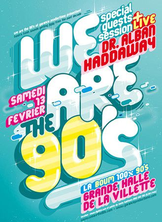 We are the 90's à la Villette