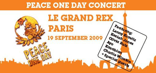 concert peace one day
