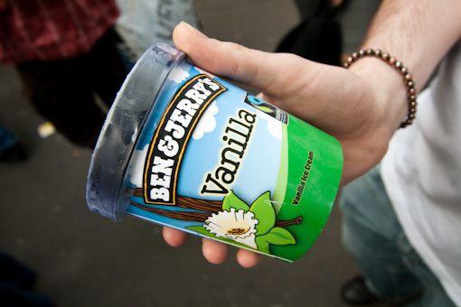 journée de la glace gratuite Ben & Jerry's 2009