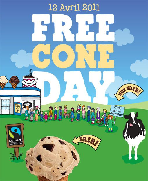 Free cone day 2011