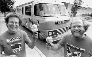 Ben & Jerry's - back to the future !