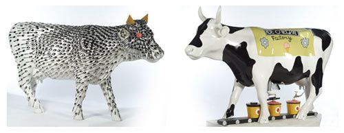 Vachat cowparade